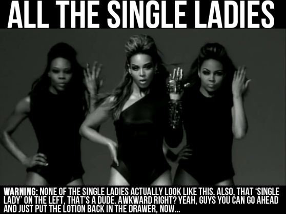 All The Single Ladies Beyonce