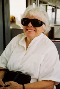 Old Woman Sunglasses
