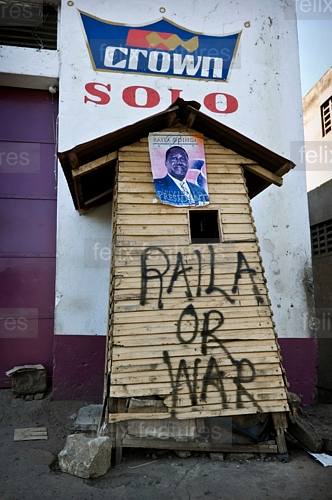 Raila or war