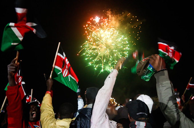 kenya at 50 celebrations
