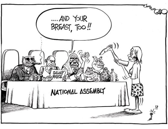 Gado on MPs Salary Raise