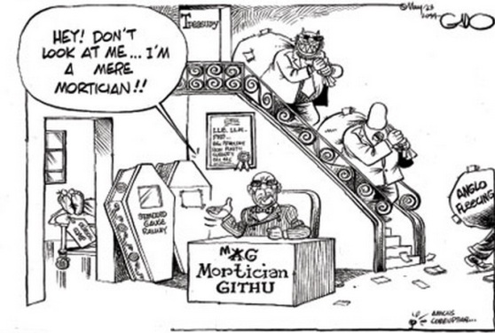 gado cartoon amicus corruptiae mortician AG Githu