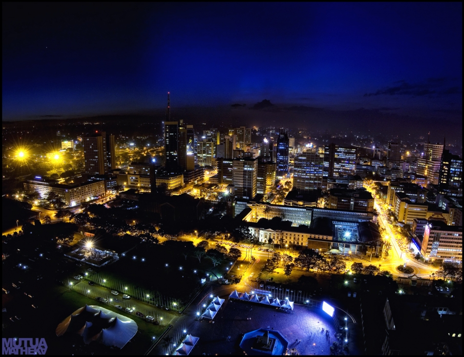 Nairobi at Night Mutua Matheka