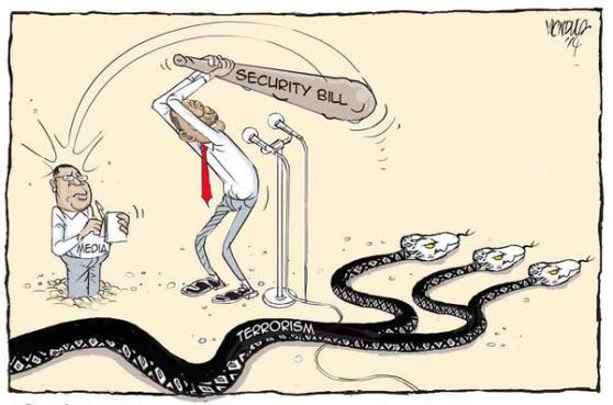 Security Bill 2014 by Victor Ndula